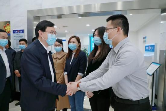 陈旭东率厅领导班子到省直司法行政各单位开展新春调研慰问